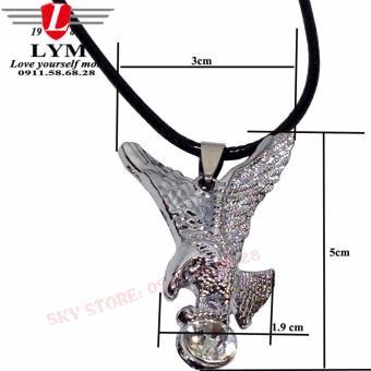Dây chuyền nam hình chim đại bàng thời trang LYM HOME 9811