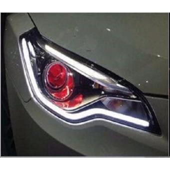 Đèn LED độ mí mắt đèn pha ô tô (dài 45cm)