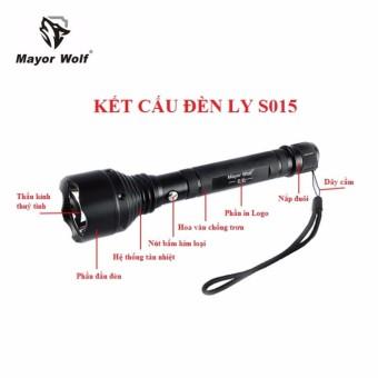 Đèn Led Pin Sạc - Đèn pin siêu sáng cree Q5, đèn led nhập khẩu từ Mĩ, không thấm nước, pin cực lâu, chất lượng cao, bảo hành uy tín, 1 đổi 1