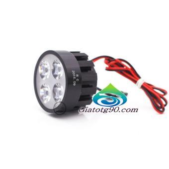 Đèn Led trợ sáng xe máy gắn chân gương 206401 (2 đèn)