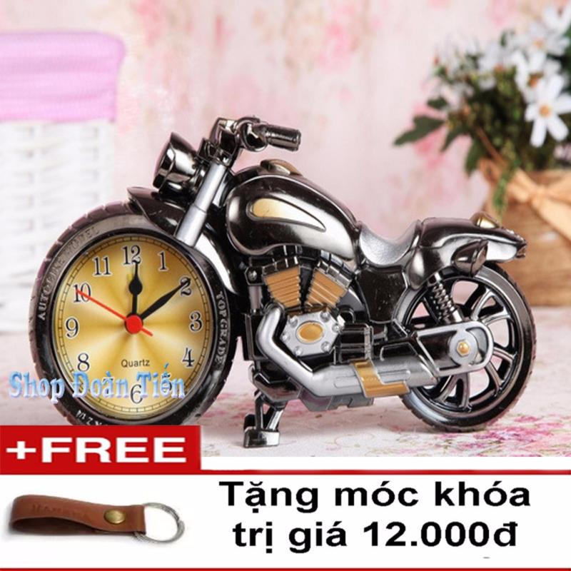 Nơi bán Đồng hồ báo thức mô hình Motor (Xám)( TẶng  móc khóa da)