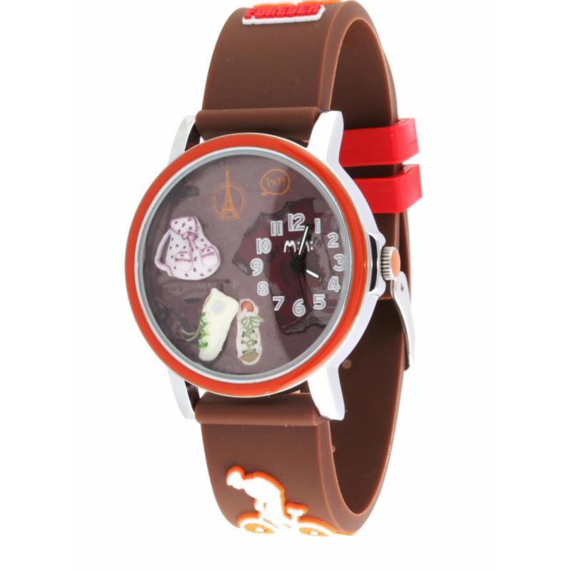 Đồng hồ bé  dây cao su MN959 (Nâu) bán chạy