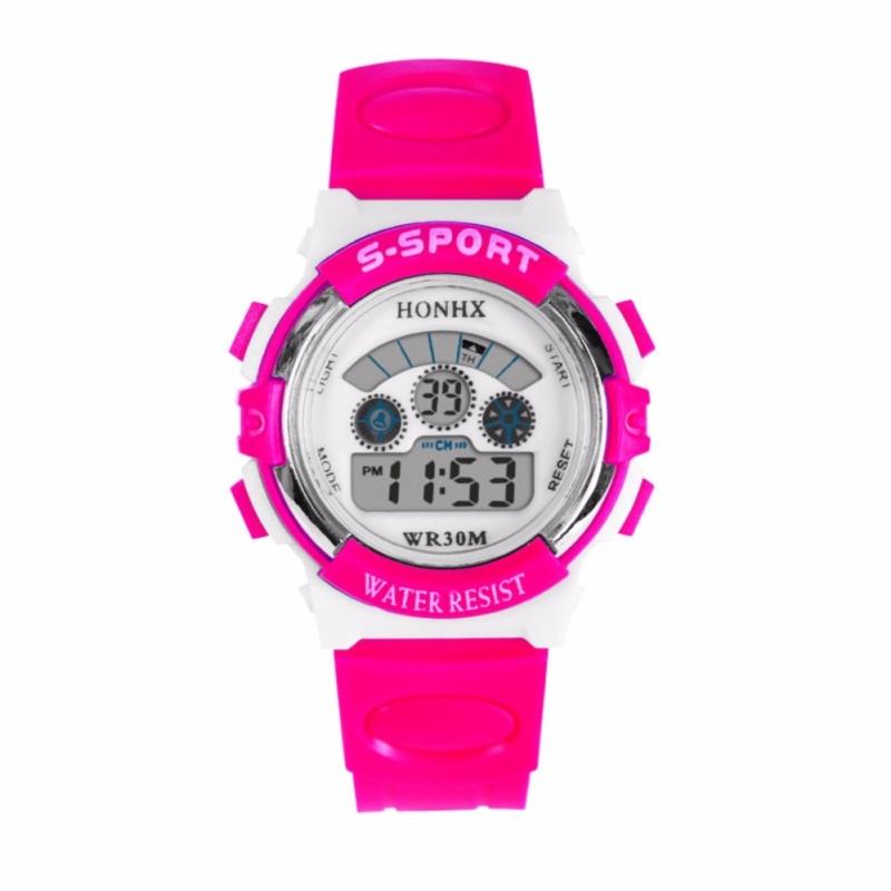 Đồng hồ bé gái cá tính (Hồng) bán chạy