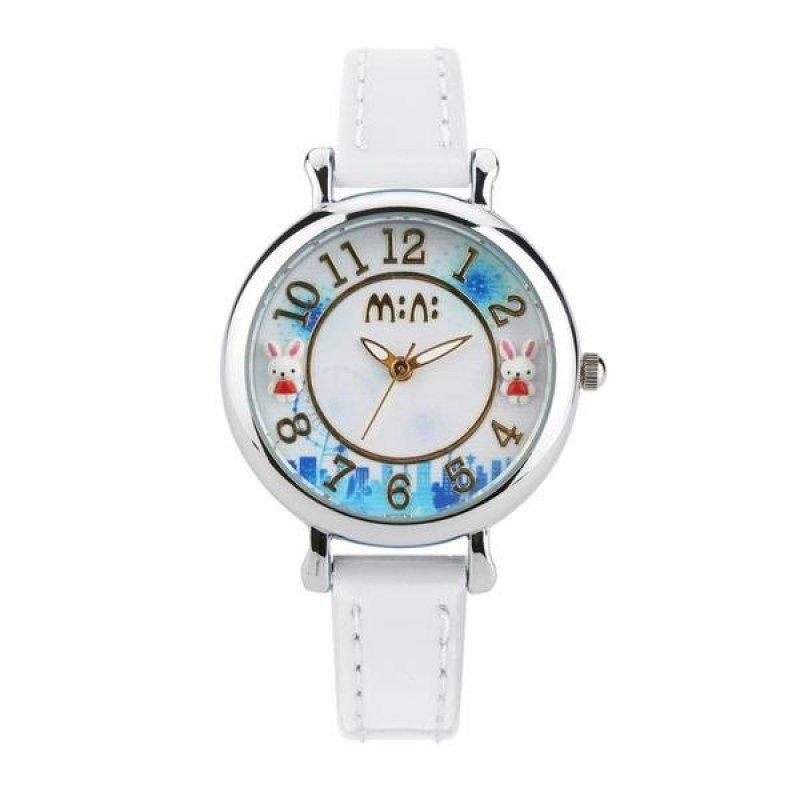 Đồng hồ bé gái Mini Hàn Quốc dây da MI071 (Trắng) bán chạy