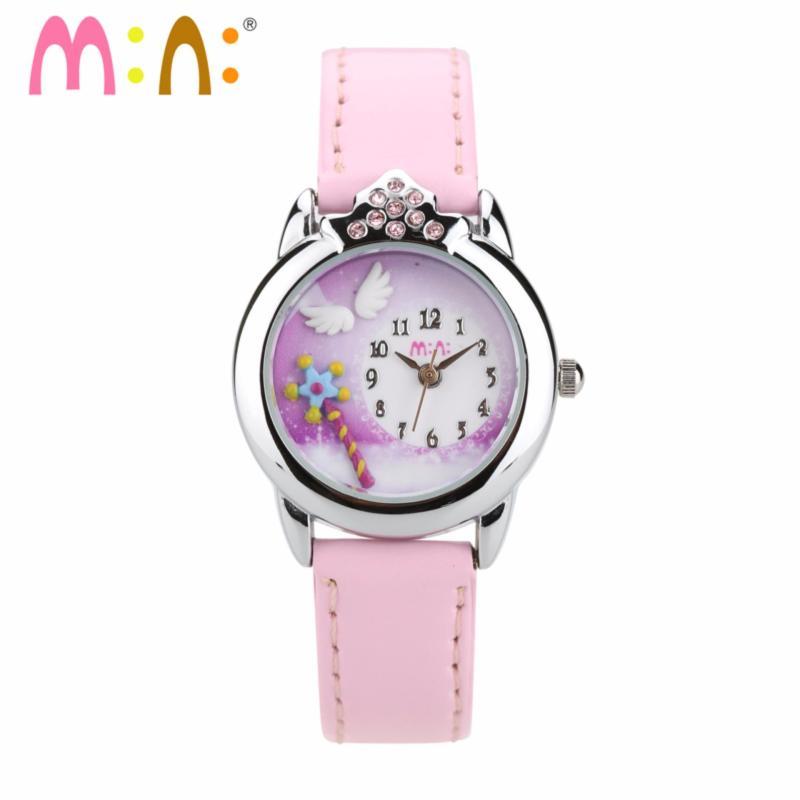 Đồng hồ bé gái Mini Hàn Quốc MI054 (Hồng Nhạt) bán chạy