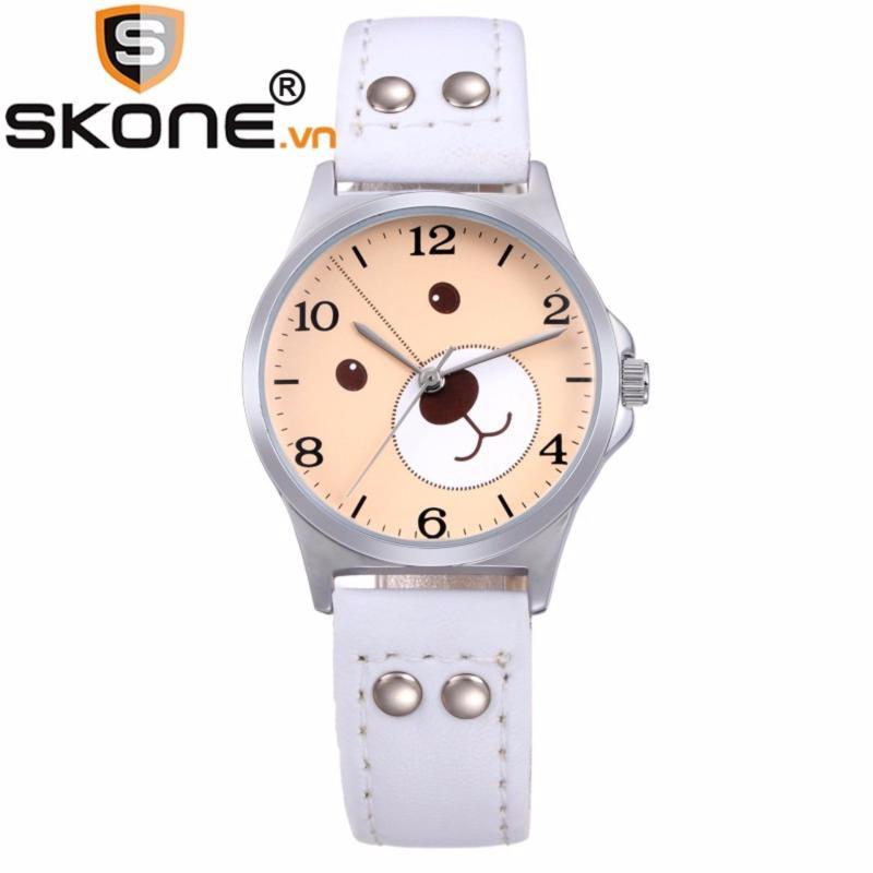 Đồng hồ bé gái SKONE - dây da 3170-4 bán chạy