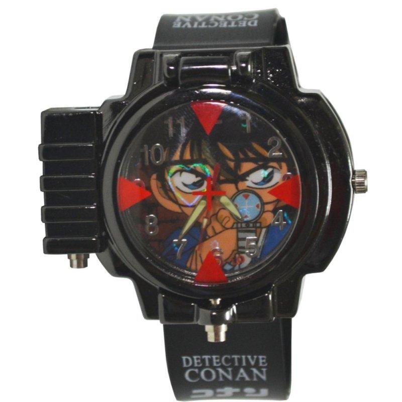Đồng hồ bé trai dây nhựa hình Conan bán chạy