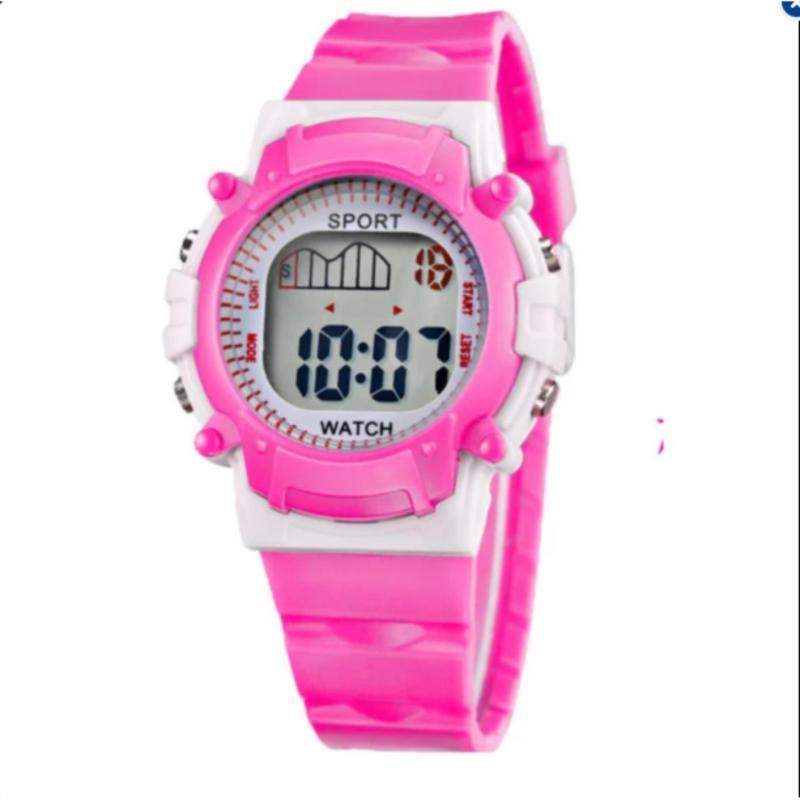 Đồng hồ cá tính cho bé gái+ Tặng vòng tay phát quang bán chạy