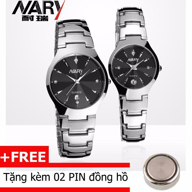 Nơi bán Đồng hồ cặp dây hợp kim Nary 1004