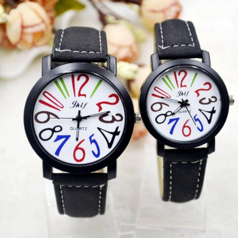 Nơi bán Đồng hồ cặp số màu cá tính (Cà phê)