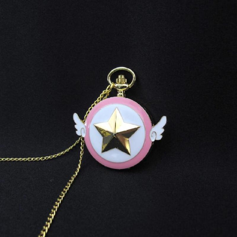 Đồng hồ Cardcaptor Sakura dây chuyền Mặc định bán chạy