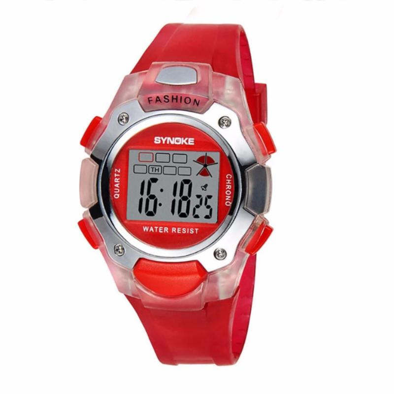 Đồng hồ cho trẻ em Synoke 99319 (Đỏ) bán chạy