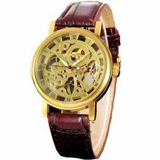 Đánh Giá Đồng hồ cơ nam lộ máy dây da WINNER WN2896 (Nâu)