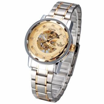 Đồng hồ cơ nam SEWOR dây thép không gỉ SW6985