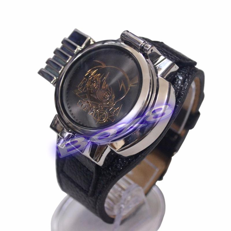 Nơi bán Đồng hồ Conan LED đeo tay và chiếu đèn Laser - trung cấp (bạc)
