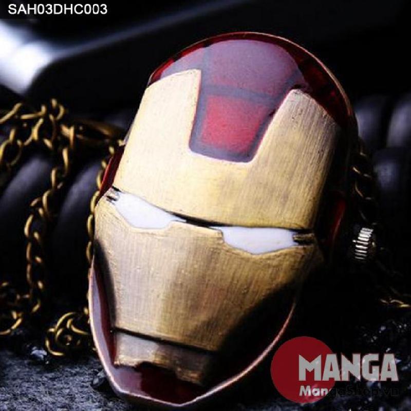 Đồng hồ dây chuyền Siêu Anh Hùng Iron Man - 003 Mặc định bán chạy