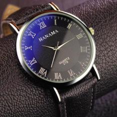 Đồng hồ dây da nam thời trang chống nước HANAMA 278