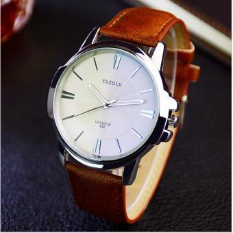 Đồng hồ dây da nam thời trang YZL 379