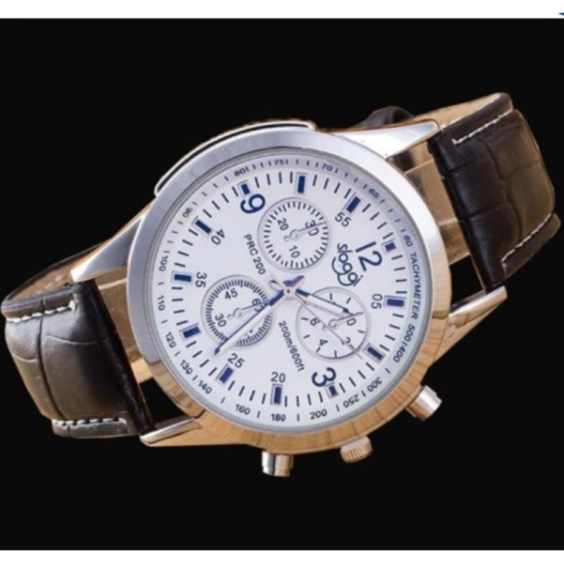 Nơi bán Đồng hồ dây da phong cách thời trang Hàn (Mặt trắng)