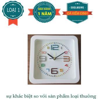 Đồng hồ để bàn hình vuông SHEEL LOẠI 1