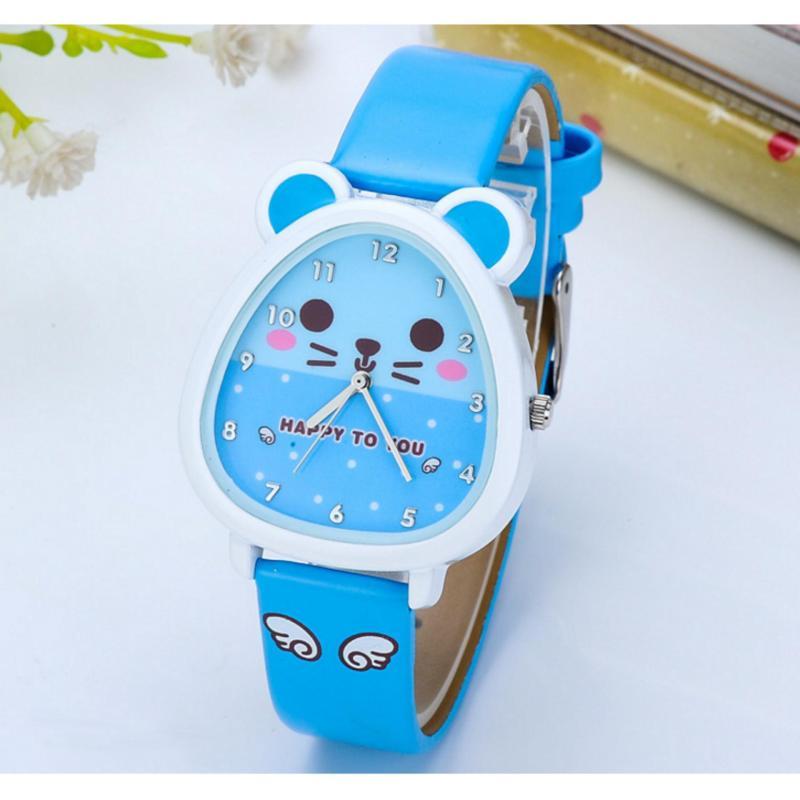 Đồng hồ đeo tay cho bé gái Hàn Quốc GE216 (xanh) bán chạy