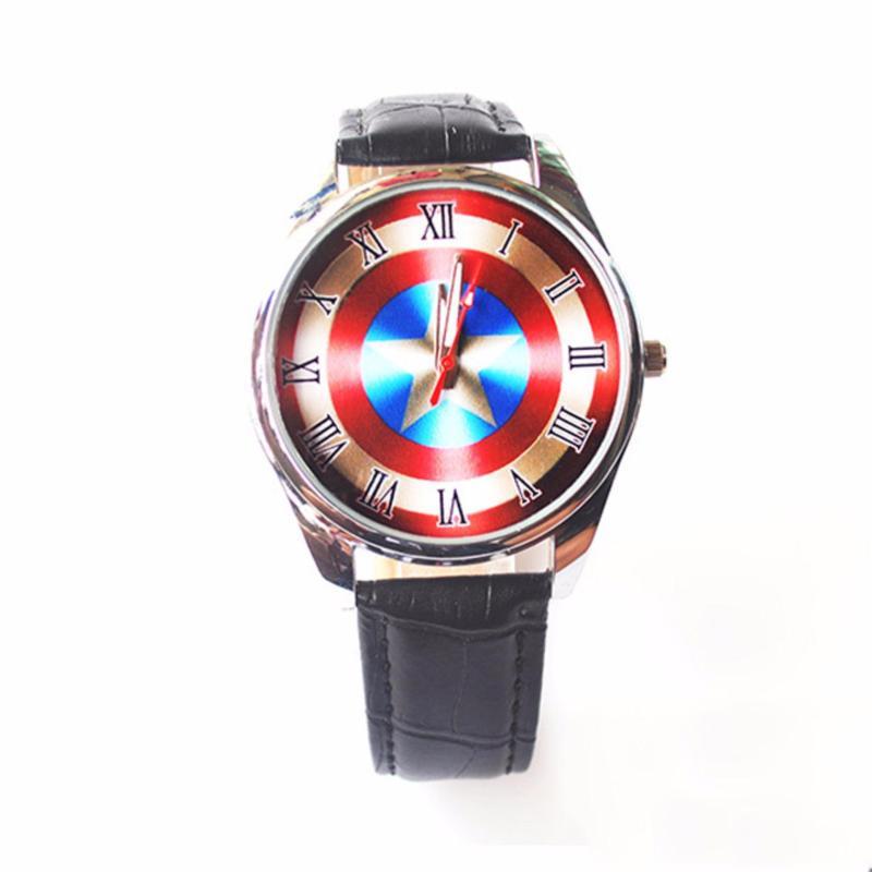 Nơi bán Đồng hồ Đeo Tay Siêu Anh Hùng Captain America - 001