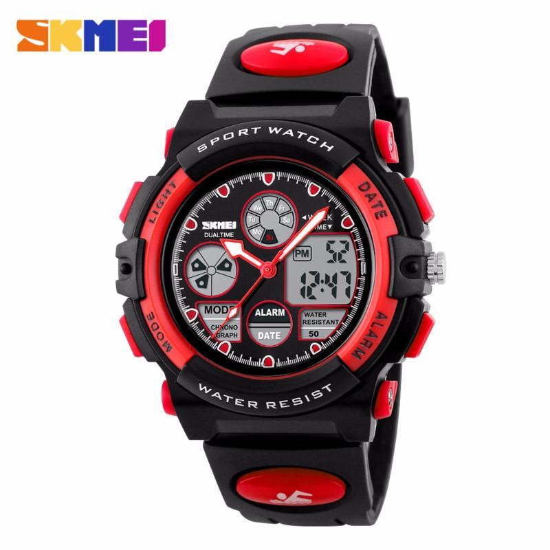 Nơi bán Đồng hồ điện tử bé trai SKMEI SK094 (Đỏ)