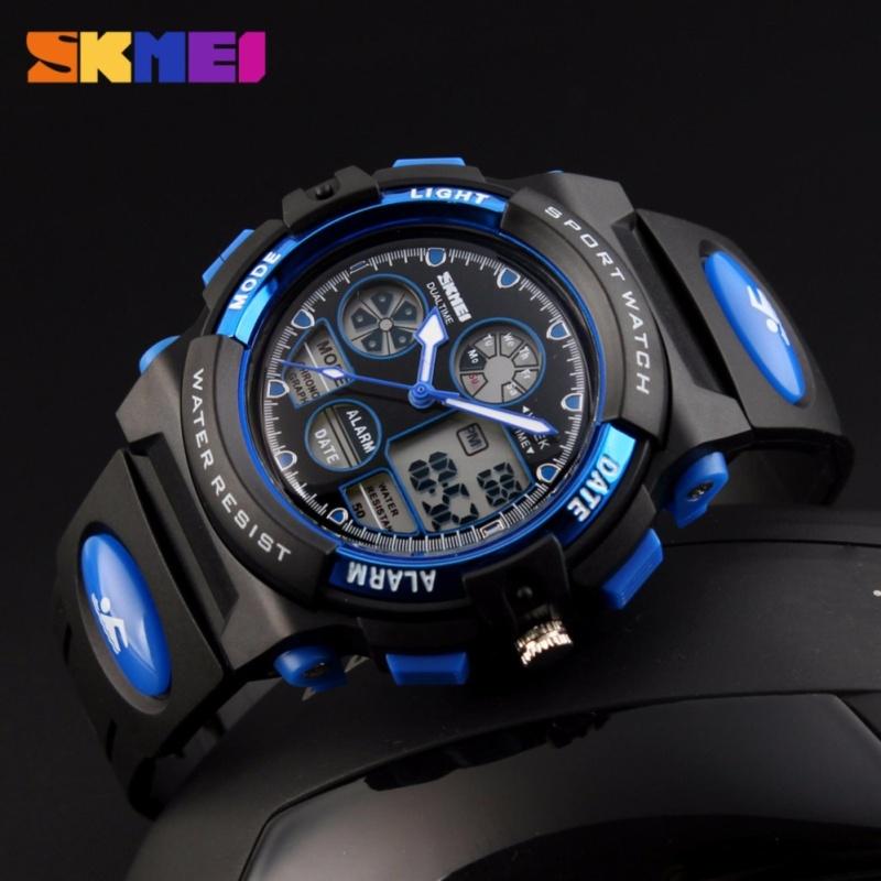 Đồng hồ điện tử bé trai Skmei Sk094 (Xanh dương) bán chạy