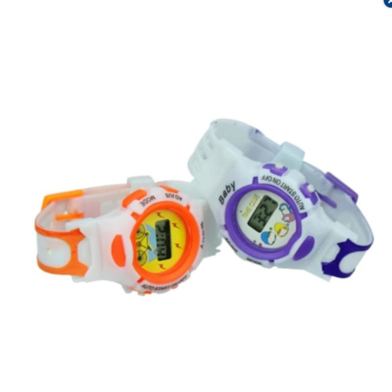 Đồng hồ điện tử cá tính cho bé (Xanh lá) bán chạy