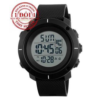 Đồng hồ điện tử dây silicone SKMEI DG1213 (Đen)