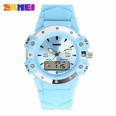 Đồng hồ điện tử SKmei thời trang 0821 đa chức năng ( Màu xanh dương) + 01 hộp cứng SKMEI