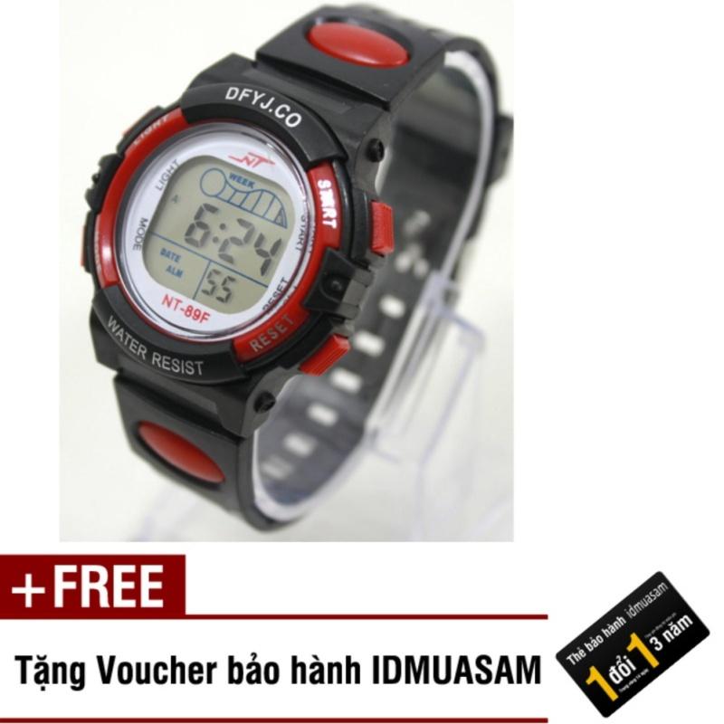 Nơi bán Đồng hồ điện tử trẻ em IDMUASAM 2445 (Đỏ) + Tặng kèm voucher bảo hành IDMUASAM