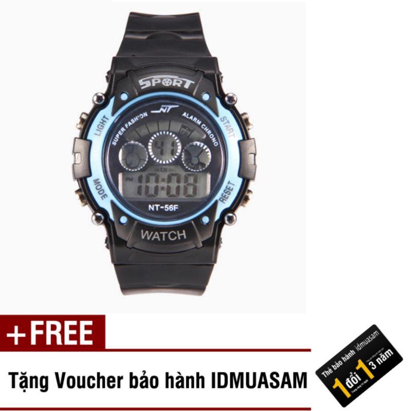 Đồng hồ điện tử trẻ em IDMUASAM 7466 (Xanh ngọc) + Tặng kèm voucher bảo hành IDMUASAM bán chạy