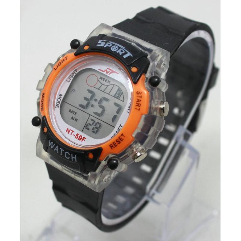 Đồng hồ điện tử trẻ em IDMUASAM 7981 (Cam) bán chạy