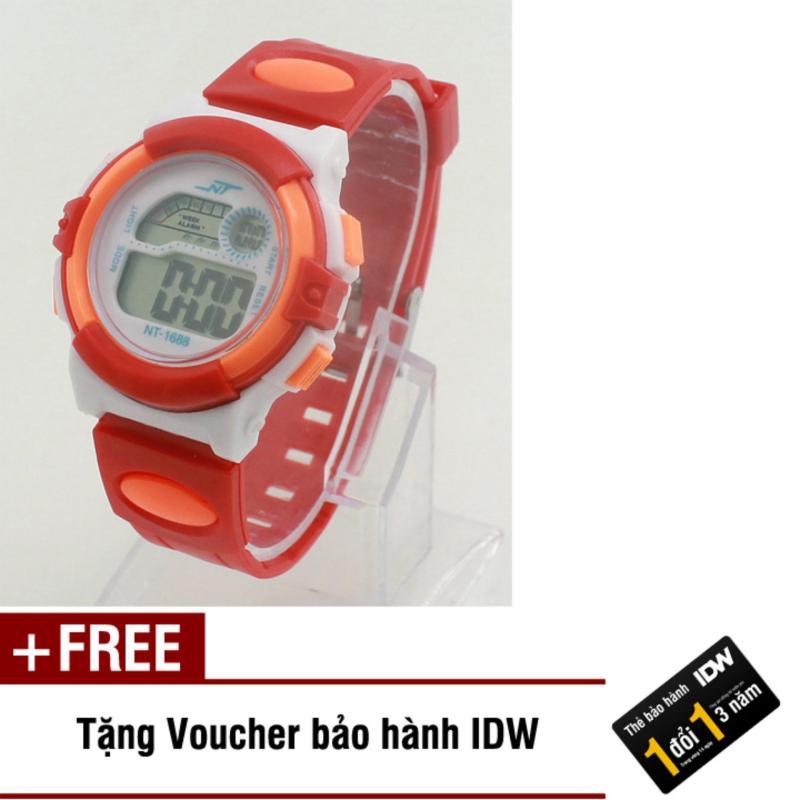 Đồng hồ điện tử trẻ em IDW 2425 (Cam) + Tặng kèm voucher bảo hành bán chạy