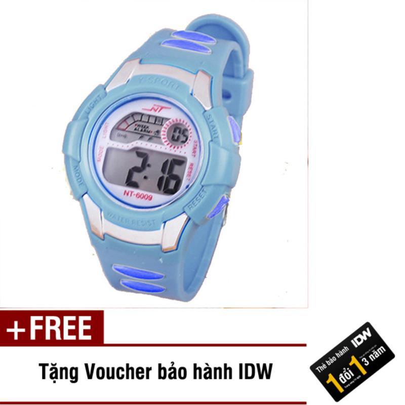 Đồng hồ điện tử trẻ em IDW 7911 (Xanh dương) + Tặng kèm voucher bảo hành IDW bán chạy