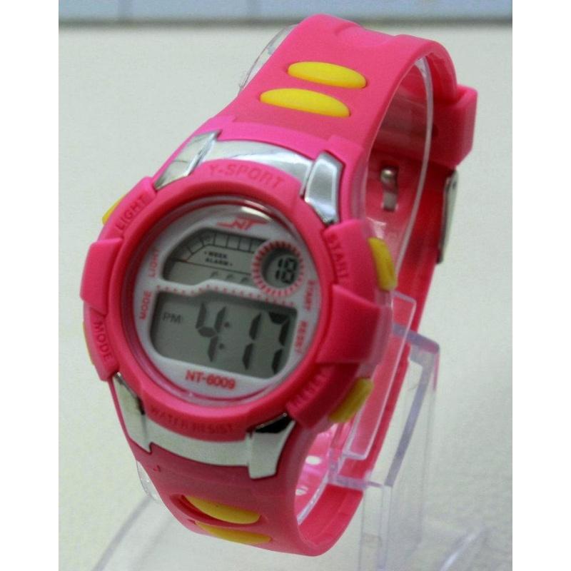Đồng hồ điện tử trẻ em IDW 7914 (Hồng) bán chạy