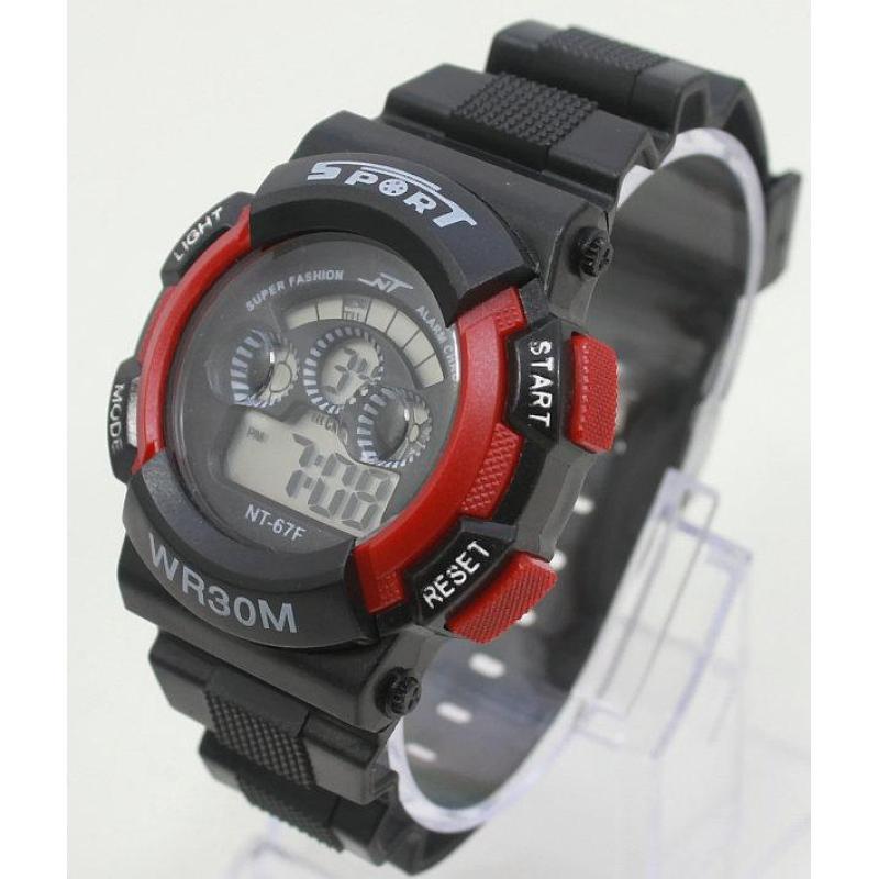Đồng hồ điện tử trẻ em IDW 7952 (Đỏ) bán chạy