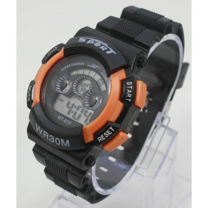Đồng hồ điện tử trẻ em IDW 7955 (Cam) bán chạy