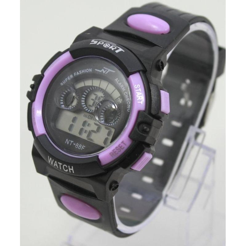 Đồng hồ điện tử trẻ em IDW 7994 (Tím) bán chạy