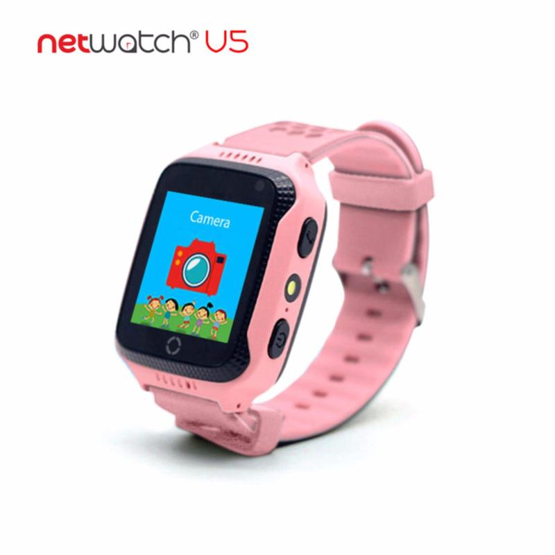 Đồng hồ định vị trẻ em nhiều chức năng NetWatch® V5-P001 (Hồng) bán chạy