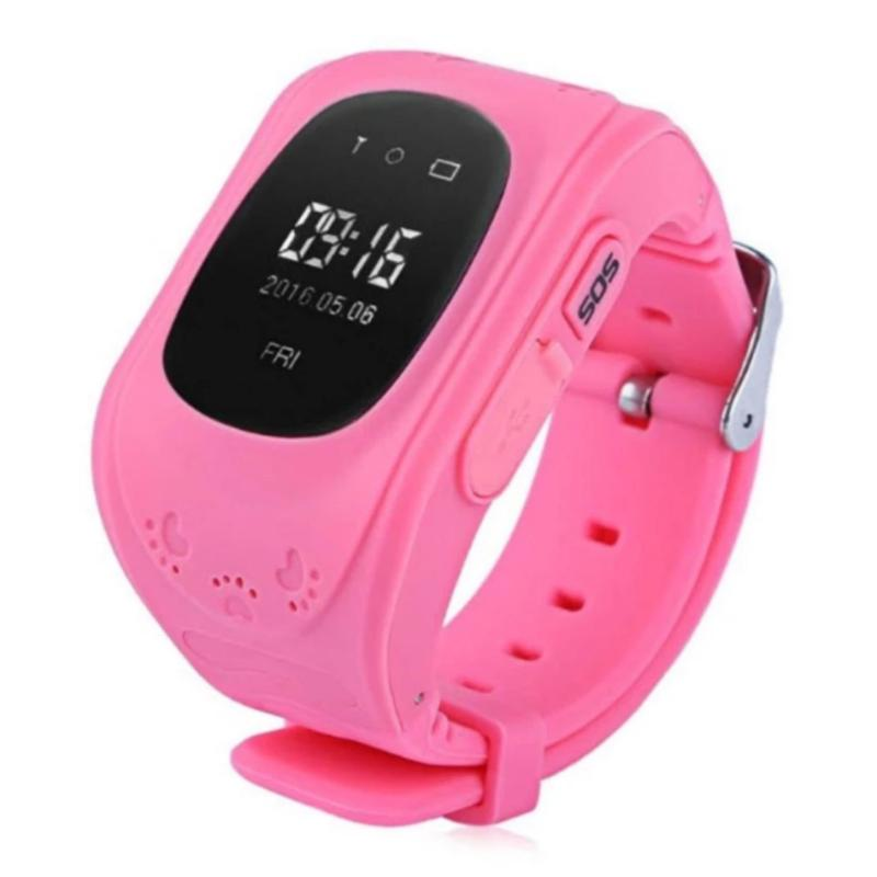 Đồng hồ định vị trẻ em thông minh SmartWatch Q50 (Hồng) bán chạy