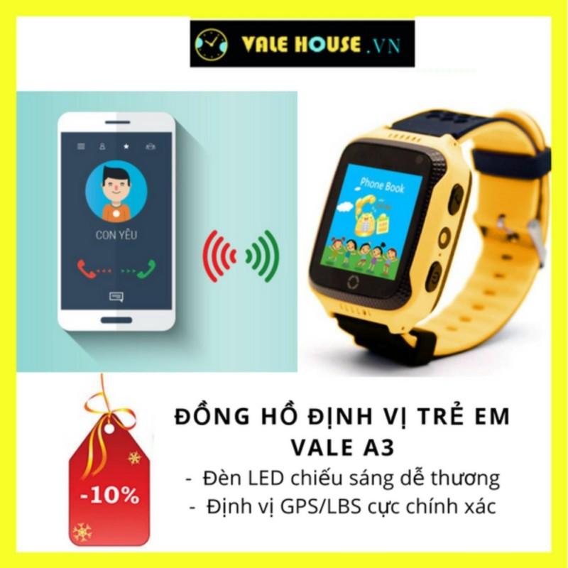 Nơi bán Đồng hồ định vị trẻ em VALE A3 VÀNG NẮNG 0016