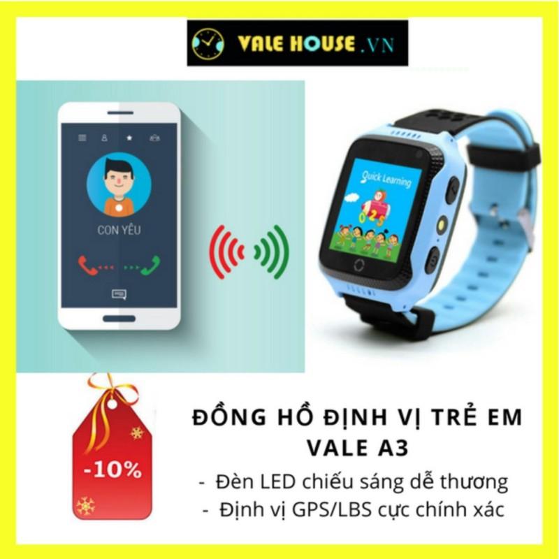 Đồng hồ định vị trẻ em VALE A3 Xanh Dương 0018 bán chạy