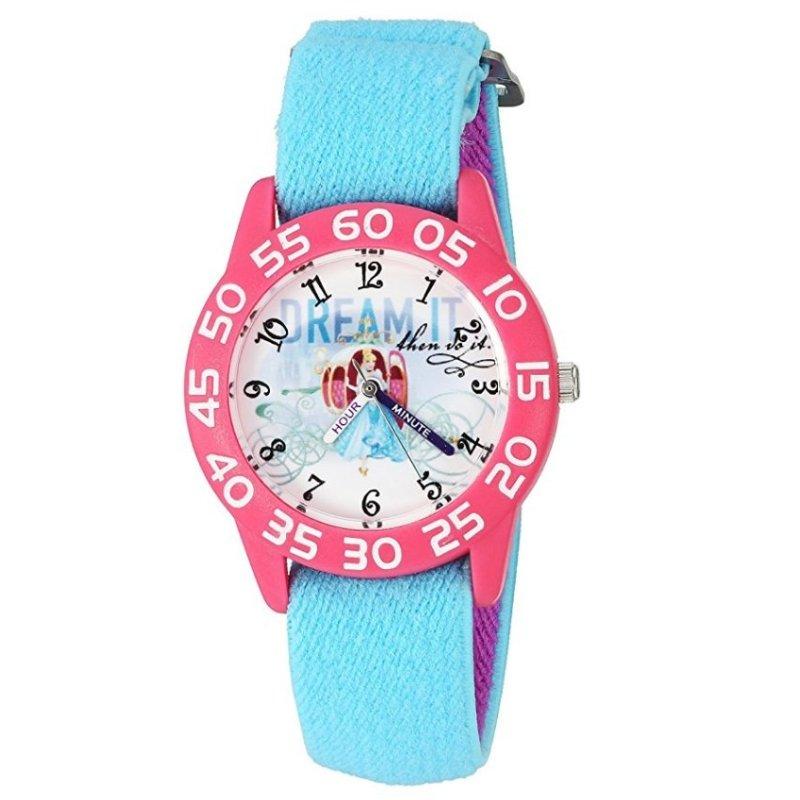Đồng Hồ Kháng Nước Bé Gái Disney Girl's Cinderella Quartz Plastic And Nylon Automatic Watch (Mỹ) bán chạy