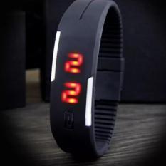 Đồng hồ dây silicon Protab ( Đen)