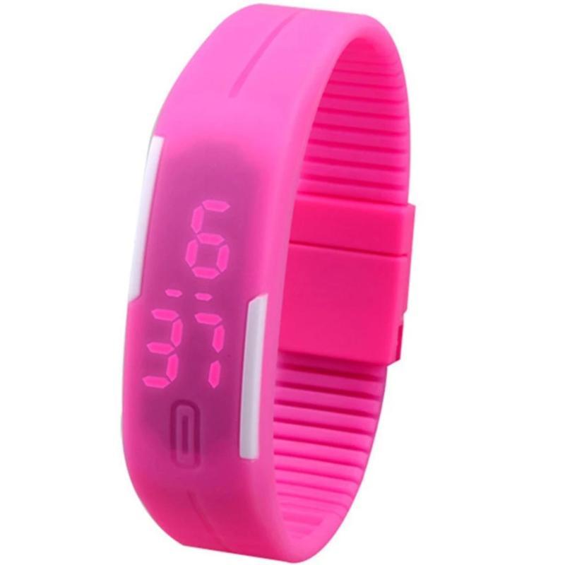 Đồng hồ led dây nhựa Sport LED bán chạy