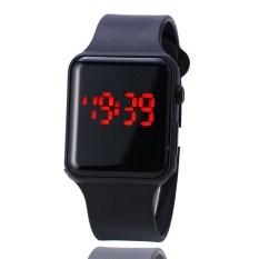 Đồng hồ LED kiểu dáng Smartwatch DZ09 có nút bấm (Đen)