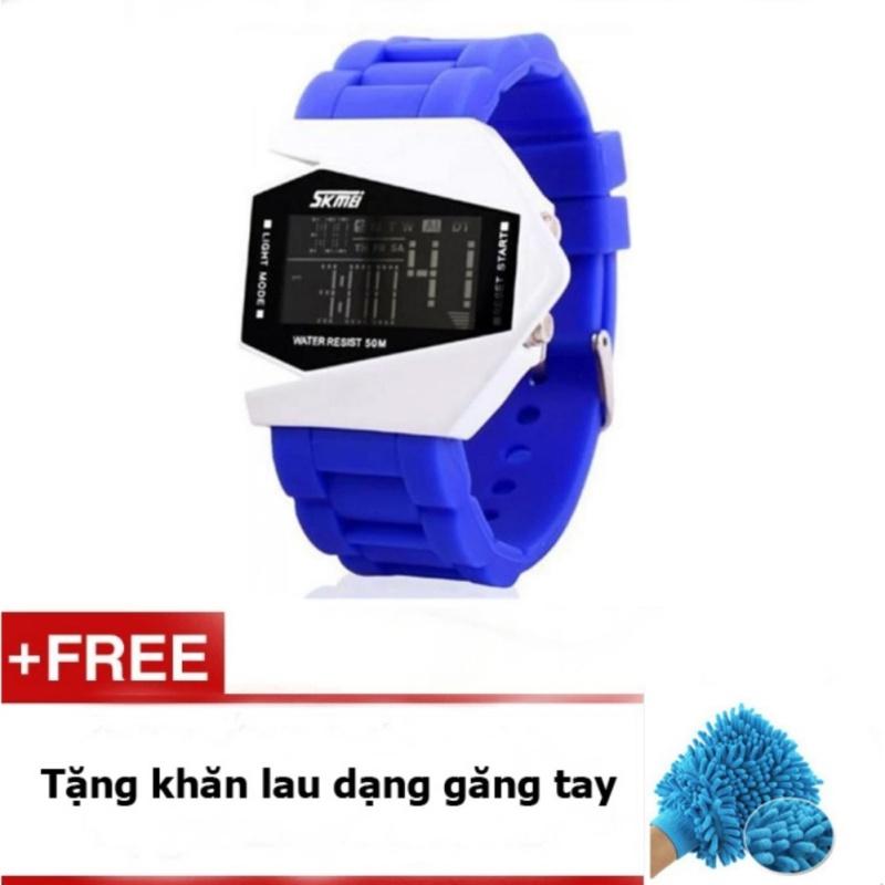 Đồng hồ LED SKMEI trẻ em SK073m màu Xanh bán chạy