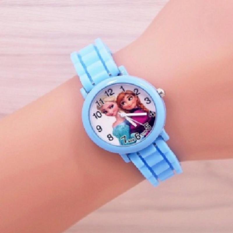Đồng hồ mặt hóa tiết 2 nàng công chúa xinh xắn bán chạy